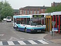 Jim Stones Coaches bus in Leigh Cheshire registration J5 BUS.jpg