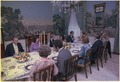 Jimmy Carter and Rosalynn Carter host a dinner for members of the White House press corp. - NARA - 180500.tif