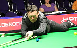 Jimmy White op het Players Tour Championship 2011/2012