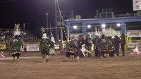 File:Joe Tohonnie Jr & Apache Crowndancers - Navajo Nation Fair.webm