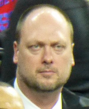 Joe Wolf - Wolf in 2014 as Brooklyn Nets assistant coach.