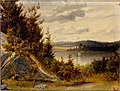Johan Knutson - Wooded Waterfront Landscape - A I 638-13 - Finnish National Gallery.jpg