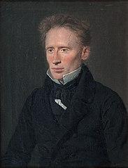 "Portrait of Johannes Dam Hage (1800-1837), editor of ""Fædrelandet"" (The Fatherland)"