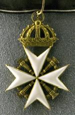 Halskors for retsridder af Johanniterorden i Sverige