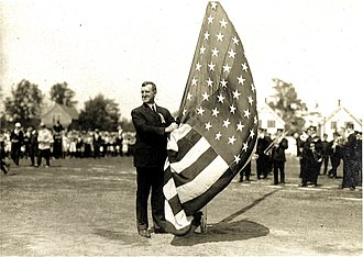 John A. Denison - Mayor John A. Denison presiding over Independence Day celebrations on July 4, 1913 in Springfield, Massachusetts