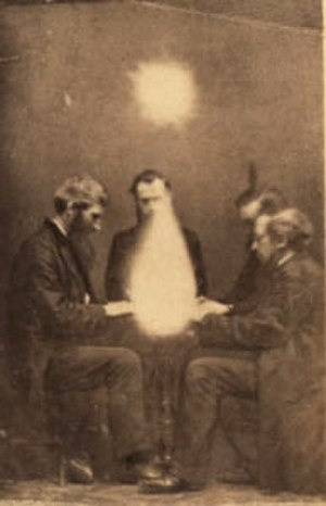 Séance - Séance conducted by John Beattie, Bristol, England, 1872