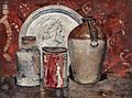 John Quinton Pringle - Still Life with the Head of Dante.jpg