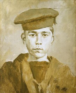 John Travers Cornwell, Boy 1st class (1900-1916), by Ambrose McEvoy.jpg