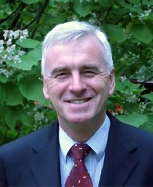 Shadow Chancellor of the Exchequer - Image: Johnmcdonnellmp