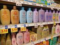 Johnson's Baby Product Shelves at Kroger.JPG