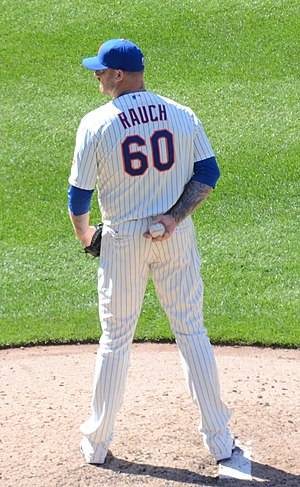 Jon Rauch - Rauch with the New York Mets