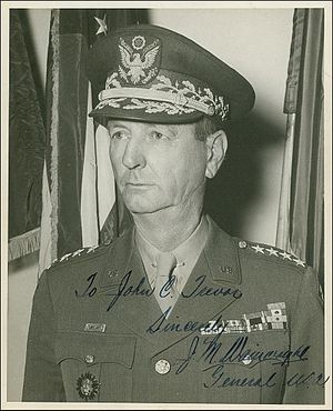Jonathan M. Wainwright (general) - Wainwright after World War II and promotion to full General