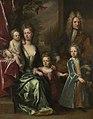 Jonathan Richardson the elder (1667-1745) - The Dryden Family, Edward Dryden (d.1717), His Wife, Elizabeth Allen and Their Children, John Dryden - 494748 - National Trust.jpg