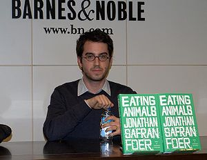 Jonathan Safran Foer - Foer in New York to discuss his book Eating Animals.