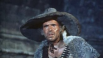 "José Manuel Martín - Martín as ""Cherokee"" in the Gino Mangini Spaghetti Western Bastard, Go and Kill (1971)."