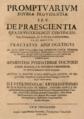 José de Villanueva (1670) Promptuarium diuinae prouidentiae seu de praescientia.png