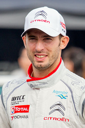 2017 Mexico City ePrix - José María López (pictured in 2014), who moved into the lead, after Turvey retired, and held the first position for 13 laps.