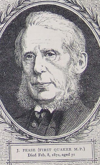 Joseph Pease (railway pioneer) - Joseph Pease