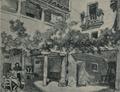 Joseph Pennell (1903) patio de una casa en Alcalá de Henares.png