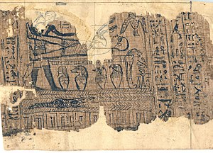 Book of Abraham - A portion of the papyri used by Joseph Smith as the source of the Book of Abraham. The difference between Egyptologists' translation and Joseph Smith's interpretations has caused considerable controversy.
