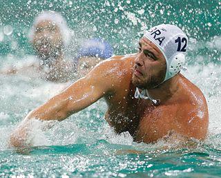 Josip Vrlić Croatian water polo player