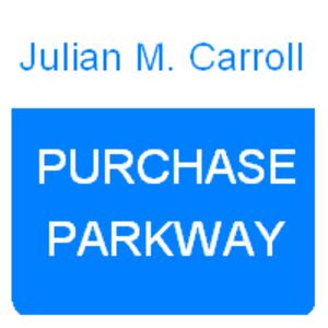 Purchase Parkway - The Purchase Parkway formerly used a light blue shield.