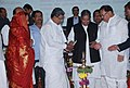 K. Rahman Khan and the Chief Minister of Karnataka, Shri Siddaramaiah at the inauguration of Southern Regional Conference of NGO's organised by Ministry of Minority Affairs, at Bangalore on December 21, 2013.jpg