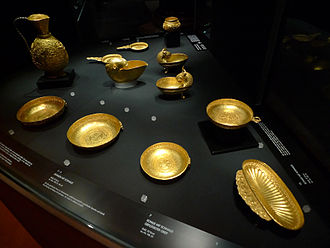 Treasure of Nagyszentmiklós - Another part of the treasure.