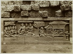 KITLV 28068 - Kassian Céphas - Relief of the hidden base of Borobudur - 1890-1891.tif