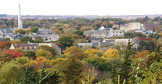 Kansas State University - Northern Campus in October