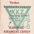 Kadaňské keramické závody - reklamní logo.tif