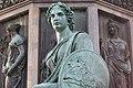 Kaiser Franz-Denkmal Hofburg Wien 2015 Sitzfiguren Stärke 04.jpg