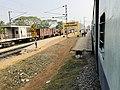 Kaluparaghat railway station name board 1.jpg