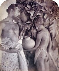 Kalutara Peasant Man and Woman, by Julia Margaret Cameron.jpg