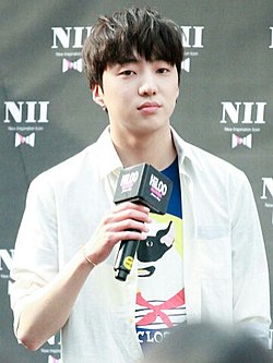 Kang Seung-yoon at NII Fanmeeting 'Hi-Loo' on May 15, 2015 (1).jpg