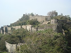 Kangra Fort from Sansar Chandra Museum 02.JPG