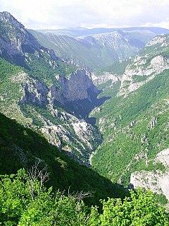 Rakitnica river in Bosnia and Herzegovina