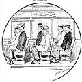Kansas City Missouri streetcar riders struggle with a new no-smoking policy, 1910-11-01.jpg