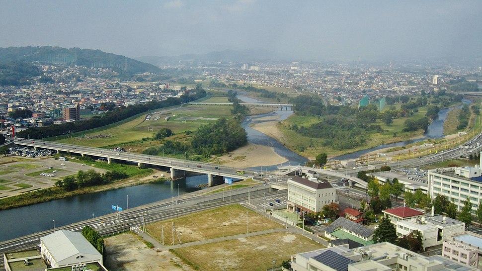 Karasu River and Usui River survey
