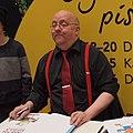 Kari Korhonen at Helsinki Book Fair 2014.jpg