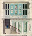 Karl Friedrich Schinkel Entwurf zu den Wandmalereien im Treppenhaus des Neuen Pavillons, 1825.tif