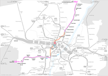 Possible route of the new U9 line