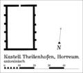 Kastell Theilenhofen Horreum.png
