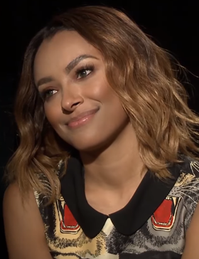 Kat Graham, 2017 Kat Graham during an interview in June 2017 01.png