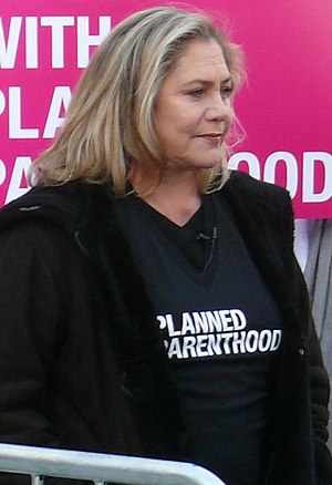 Kathleen Turner - Turner at the Planned Parenthood Rally in New York City in 2011
