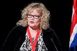 Katrin Sjogren vid Nordiska Radets session pa Island 2010-11-04.jpg