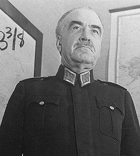 Fevzi Çakmak Turkish military and political leader