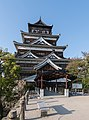 Keep, Hiroshima Castle, South view 20190417 3.jpg