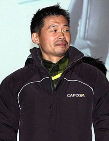 A Japanese gentleman wearing a black hoodie