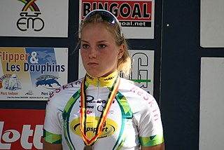 Kelly Druyts Belgian cyclist